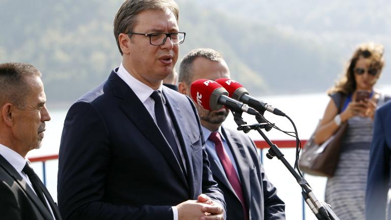 Вучич: Западът подцени Балканите