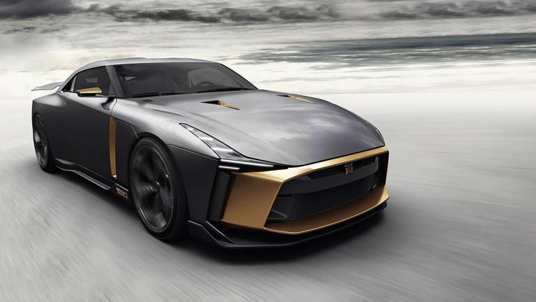 Компанията Nissan пуска ограничена серия на юбилеен супер автомобил GT-R50.