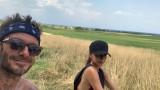 Дейвид Бекъм, Виктория Бекъм и семейната им ваканция в Италия