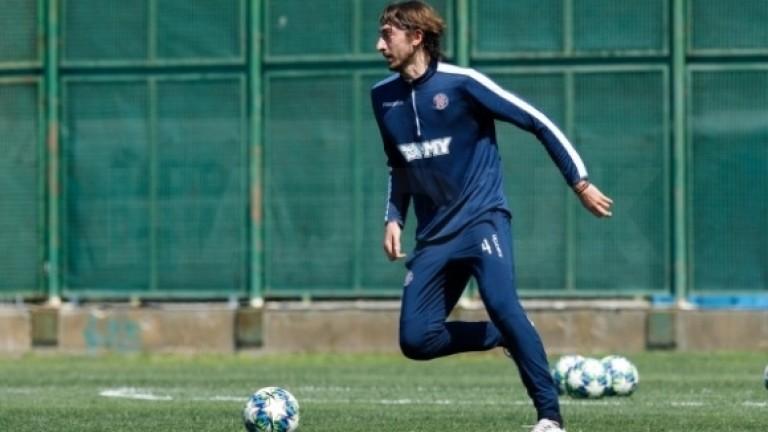 Кристиан Димитров започна тренировки с Хайдук