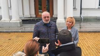 Бабикян отдава почит на Ботев пред Съдебната палата
