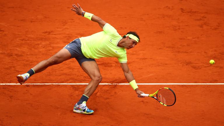 Рафаел Надал е първият финалист на