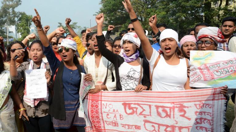 Студенти организираха протести в градове в цяла Индия като част