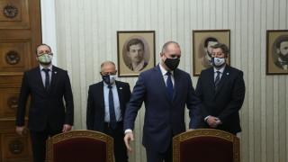 Румен Радев открои пред ДБ нуждата от стабилност - ДБ подкрепят кабинет на промяната