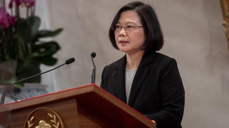 Тайван отхвърли призива на Китай за обединение