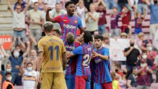 Барселона надигна глава след класика срещу Леванте