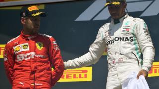 Люис Хамилтън спечели Гран при на Канада, след като финишира втори