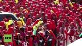 В Индия танцуват за Гинес (ВИДЕО)
