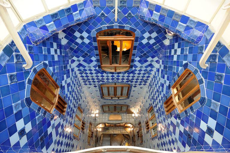 Casa Batlló, отвътре