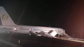 Шестима ранени след тежко кацане на самолет на Fly Jamaica Airways