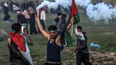 Пореден кървав протест в Газа