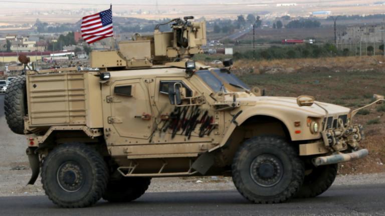 Американските военни укрепват базите си в Сирия
