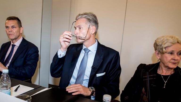 Главният изпълнителен директор на Danske Bank подаде оставка вследствие на