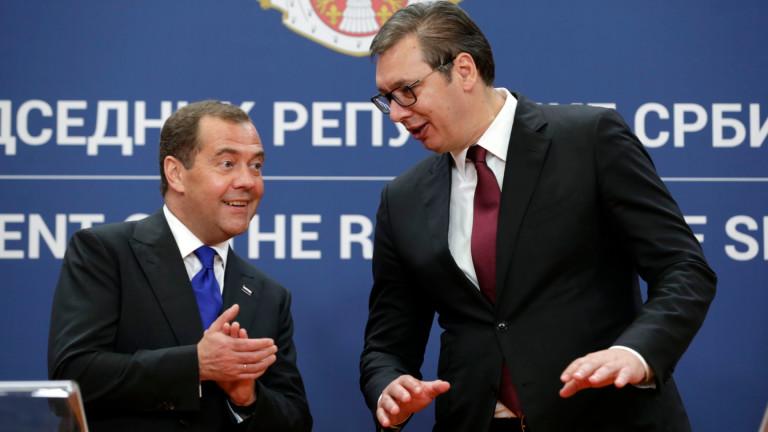 Вучич: Решението на ЕС за Скопие и Тирана оправдава сближаване с Русия и Китай