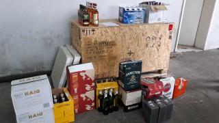 Митничари иззеха 110 бутилки алкохол с изтекъл бандерол в Кубрат