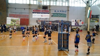 Волейболистките на Левски с важна победа в плейофа