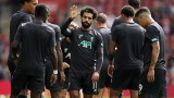 Мохамед Салах ще бъде готов за голямото дерби с Манчестър Юнайтед