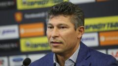 Балъков: Гледам всички контроли, нещата в националния отбор няма да станат отведнъж