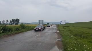 Катастрофа ограничи движението по пътя Русе-Разград