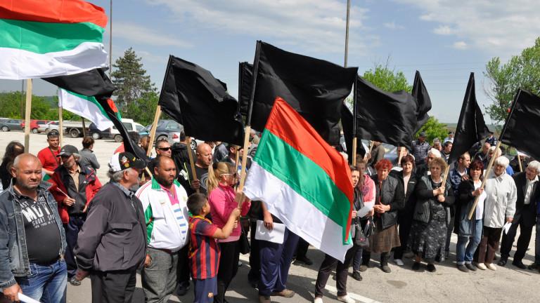 Подновен е протестът на фермерите от Източните Родопи