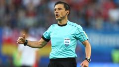 Милорад Мажич ще ръководи финала в Шампионската лига