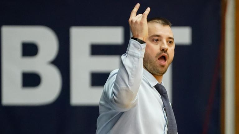 Старши-треньорът на баскетболния Рилски спортист Людмил Хаджисотиров-Удо коментира пред bgbaskeb.com