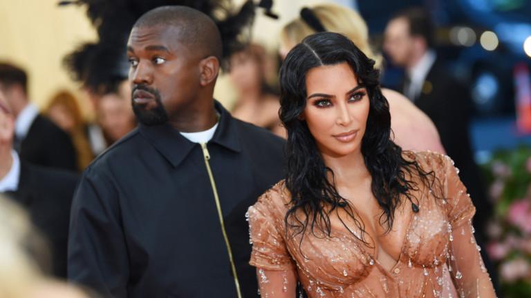 Това ли е краят за Ким и Кание