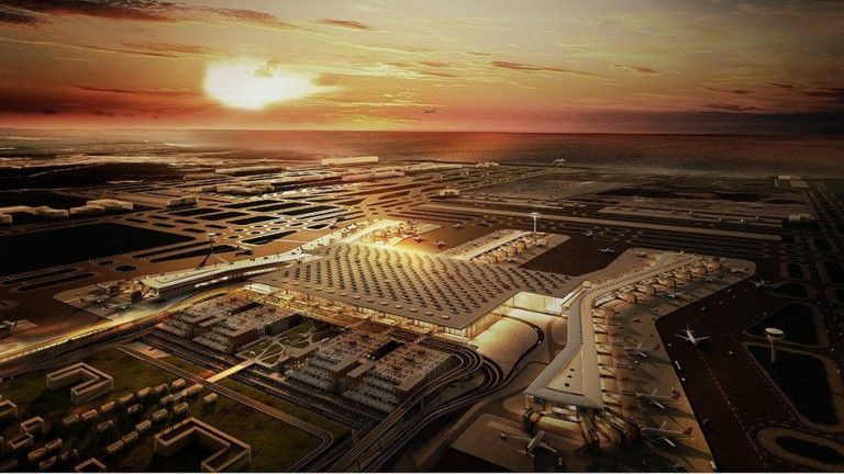 Снимка: Новото най-голямо летище в света е изградено със стъкло от България