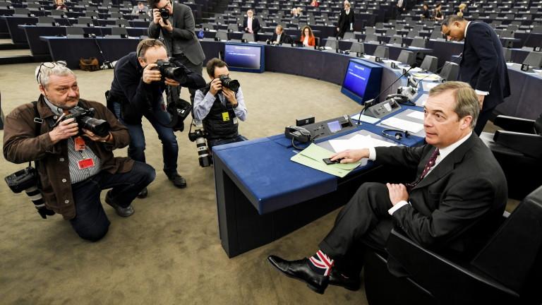 Фараж: Британският парламент няма да позволи Брекзит да се случи на 29 март