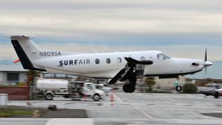 Неограничен брой полети срещу месечна такса: Surf Air кацна в Европа