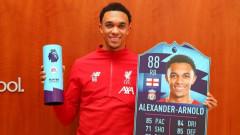 Защитник на Ливърпул спечели приза Играч на месец декември във Висшата лига