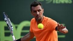 Легендата Малдини дебютира в тениса с разочароваща загуба