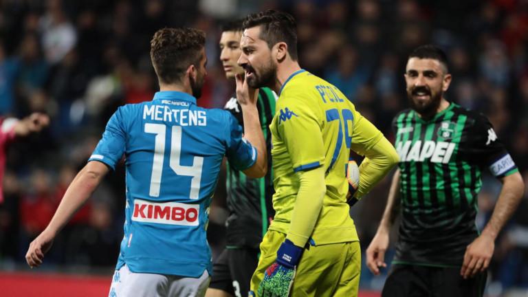 Атакуващият футболист на Наполи-Дрийс Мертенс може да продължи кариерата си