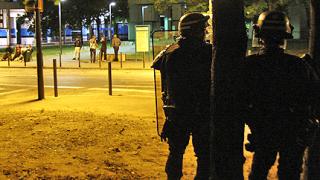 Смъртни заплахи за полицията в Гренобъл