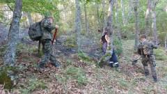 Пожарът край с. Петрово се разгоря отново, военни се включват в гасенето