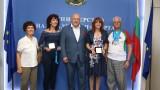 Министър Кралев се срещна с медалистите от IX Световни Мастърс игри