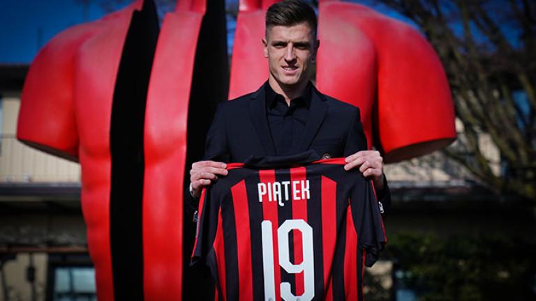 Пьонтек: Беше ми мечта да играя за Милан
