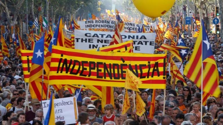 €1 милиард загуби испанската хазна от кризата в Каталуния