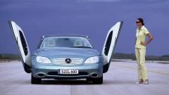 Забравеният Mercedes, който се управлява с джойстик