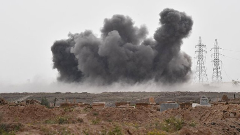 Израелските ракети удариха военна позиция близо до Дамаск