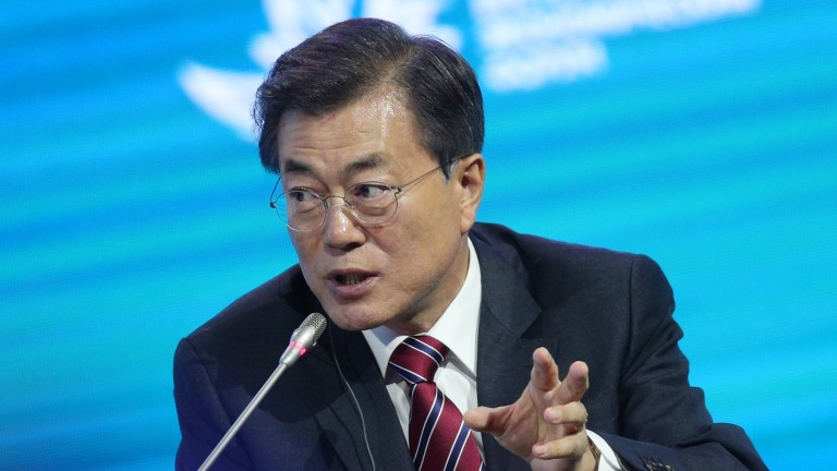 Никакви ядрени оръжия в Южна Корея, категоричен президентът