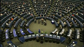 Цигани на посещение в Европейския парламент