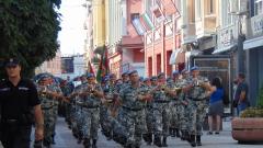 Пловдивският гарнизон отбеляза празника с шествие