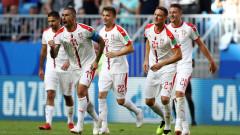 Коста Рика - Сърбия, 0:1 (Развой на срещата по минути)