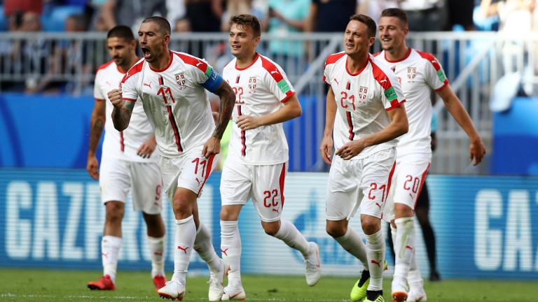 Коста Рика 0 : 1 Сърбия 73′ Гусман отстъпва мястото