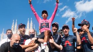 Еган Бернал спечели поредното издание на Джиро д'Италия