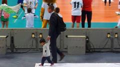 Петър Бакърджиев и Гери Гунчева ходят със сина си на работа (СНИМКИ)