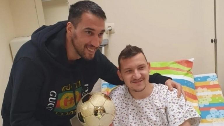 """Тодор Неделев получи приз за """"Футболист на годината"""""""