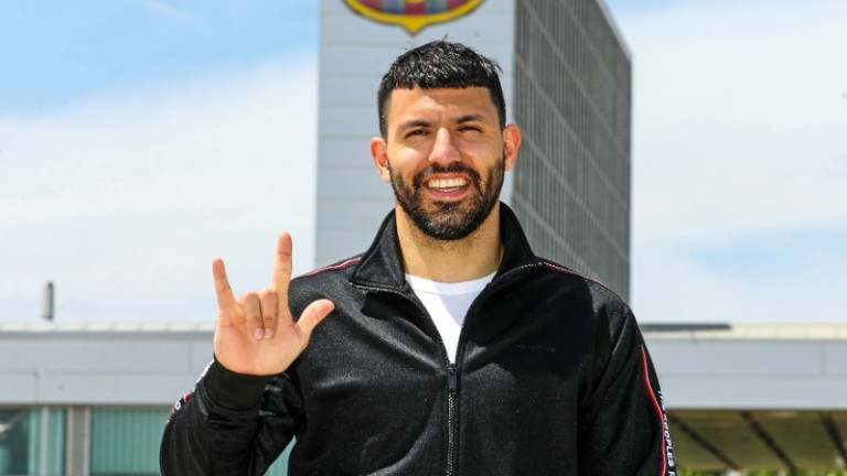 Барселона обяви трансфера на Серхио Агуеро
