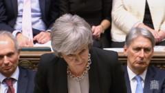 """Мей призова депутатите да гласуват поправката """"Брейди"""" за промени в сделката с ЕС"""